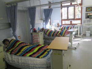 Beds in hospice